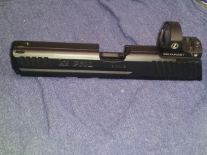 HK P30 with DeltaPoint